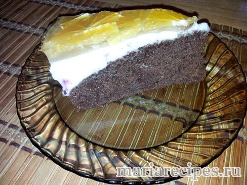 домашний шоколадный торт рецепт