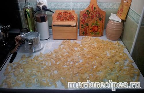 Домашняя лапша (паста)