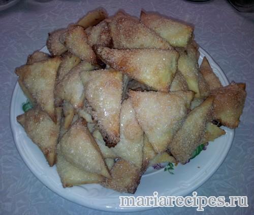 """Печенье """"Треугольники"""". Рецепт"""
