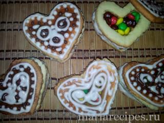 Расписное печенье «Шкатулка»
