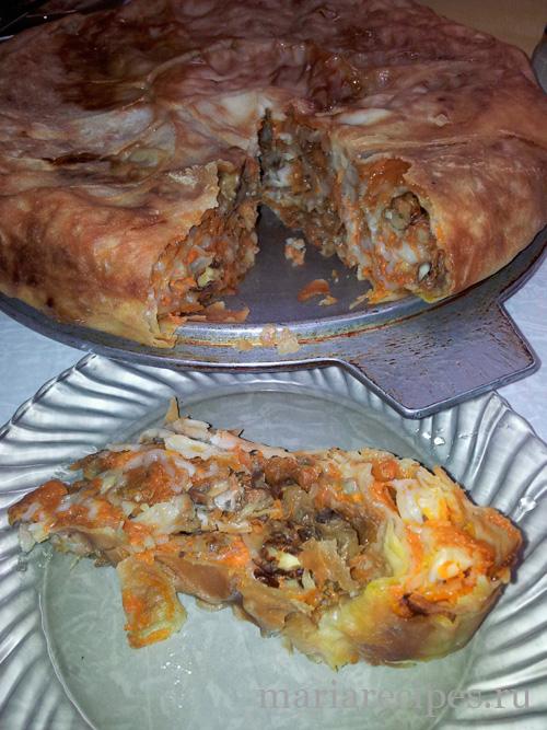 рецепт балиша с мясом