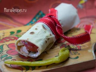 Мексиканская лепешка тортилья