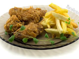 Рецепт крылышек KFC