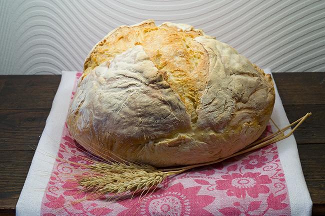 Хлеб из калачного теста